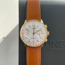 Junghans Meister Telemeter new 2019 Automatic Chronograph Watch with original box 027/3380.00