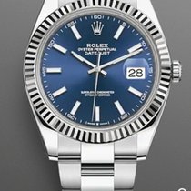 Rolex Datejust II Steel 41mm Blue No numerals United States of America, New York, Brooklyn