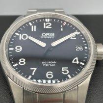 Oris Big Crown ProPilot pre-owned 41mm Black Date Steel