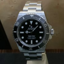 Rolex Submariner (No Date) новые 2020 Автоподзавод Часы с оригинальными документами и коробкой 124060-0001