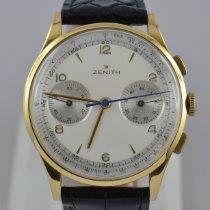 Zenith Stellina Yellow gold 38mm Silver