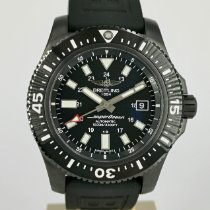 Breitling Superocean 44 Steel 44mm Black No numerals