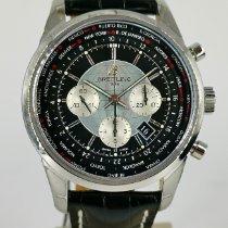Breitling Transocean Chronograph Unitime Acero 46mm Negro Sin cifras España, Boo de Pielagos
