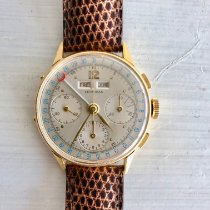 Leonidas Yellow gold 35mm Automatic 567263 pre-owned
