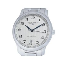 Longines Master Collection pre-owned 38mm Silver Date