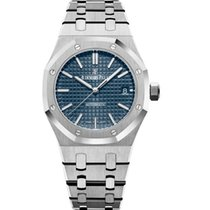 Audemars Piguet Royal Oak Selfwinding Steel 37mm Blue No numerals United States of America, Iowa, Des Moines