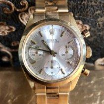 Rolex Желтое золото Механические Cеребро Без цифр 36mm подержанные Chronograph