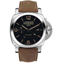 Panerai Luminor 1950 10 Days GMT new 2000 Manual winding Watch only PAM00533