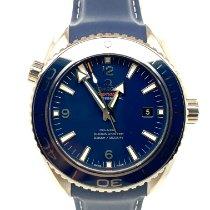 Omega Seamaster Planet Ocean Titan 45.5mm Blå Arabiska