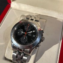 Tudor Chronautic Steel 41mm Black No numerals