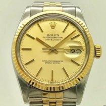 Rolex 16013 Золото/Cталь 1980 Datejust 36mm подержанные