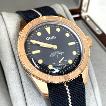 Oris Carl Brashear Bronze 40mm Blue No numerals United States of America, New York, NY