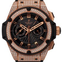 Hublot King Power Red gold 48mm Black United Kingdom, Radlett