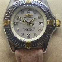 Breitling Callistino Gold/Steel 29mm Mother of pearl No numerals United States of America, Colorado, Denver
