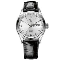 Ball Engineer II Ohio Steel 40mm Silver Arabic numerals United States of America, New Jersey, River Edge