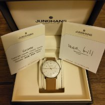 Junghans Steel Automatic Silver 38mm pre-owned max bill Automatic