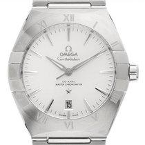Omega Constellation Men Steel 38mm White