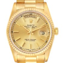 Rolex 18238 Yellow gold 1989 Day-Date 36 36mm pre-owned United States of America, Georgia, Atlanta
