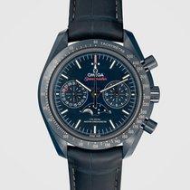 Omega Speedmaster Professional Moonwatch Moonphase Keramik Blau Keine Ziffern