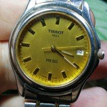 Tissot PR 50 Сталь 36mm Золотой Без цифр