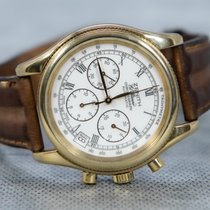 Zenith El Primero Chronograph pre-owned 39mm White Chronograph Date Tachymeter Leather