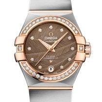 Omega Constellation Ladies Acero y oro 27mm Marrón España