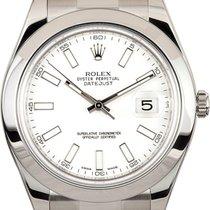 Rolex Datejust II Steel 41mm White