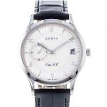Zenith Elite occasion 38mm Date Cuir
