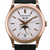 Patek Philippe Annual Calendar Or rose 38.5mm Blanc Sans chiffres France, Paris