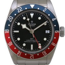 Tudor Black Bay GMT Acier 41mm Noir France, Paris