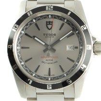 Tudor Grantour Date Steel 42mm Silver