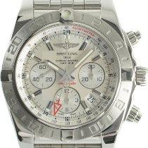 Breitling Chronomat 44 GMT Stahl 44mm Silber Deutschland, Karlsruhe