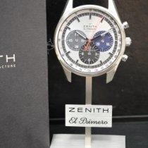 Zenith El Primero 36'000 VpH Acciaio Argento Italia, BOLOGNA