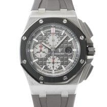 Audemars Piguet Titanium Automatic Grey 44mm pre-owned Royal Oak Offshore Chronograph
