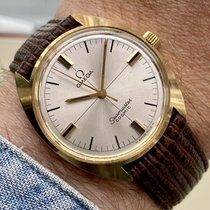 Omega Seamaster pre-owned 33mm White Leather
