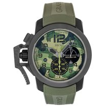 Graham Chronofighter Oversize Steel 47mm United States of America, New Jersey, Cresskill