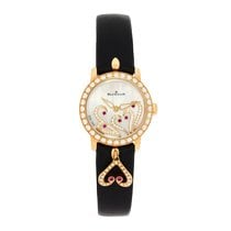 Blancpain Women Rose gold 21.5mm Mother of pearl