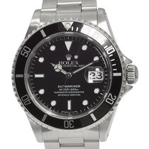 Rolex 16610 Steel 1995 Submariner Date 40mm pre-owned United Kingdom, London