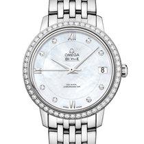 Omega De Ville Prestige nuevo 2021 Automático Reloj con estuche y documentos originales 424.15.33.20.55.001