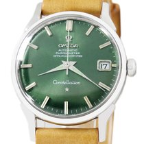Omega Constellation Steel 34mm Green No numerals United States of America, Utah, Draper
