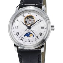 Frederique Constant Steel White 40mm new Classics Moonphase