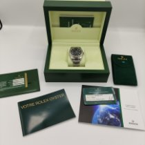 Rolex Datejust II Steel 41mm Black No numerals