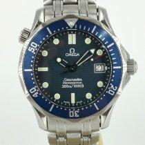 Omega Seamaster Diver 300 M usados 36mm Azul Fecha Acero