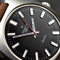 Zenith Sporto 37mm Black No numerals