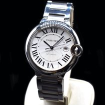 Cartier Ballon Bleu 42mm Steel 42mm Silver Roman numerals United States of America, Texas, Frisco