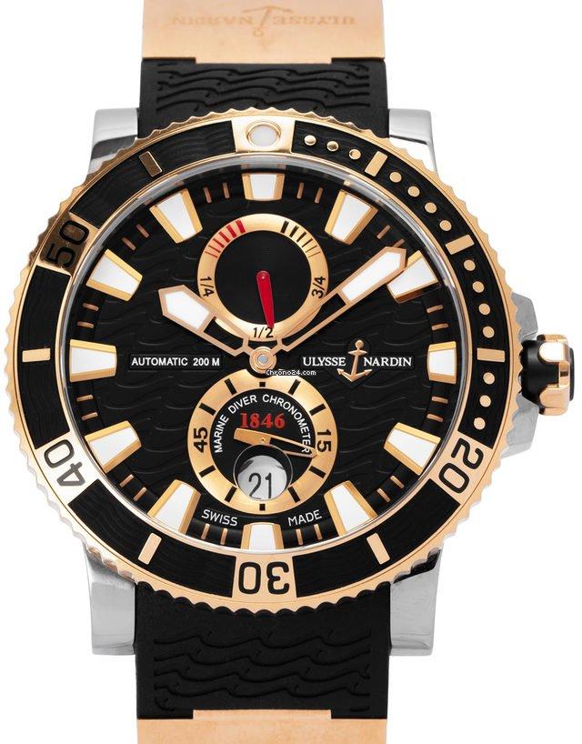 Ulysse Nardin Maxi Marine Diver 265-90-3 2012 подержанные