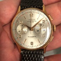 Chronographe Suisse Cie Gut Gelbgold 36mm Handaufzug