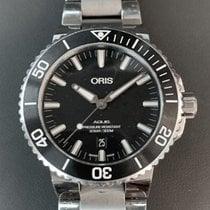 Oris Aquis Date Steel 43.5mm Black No numerals United States of America, Florida, Aventura