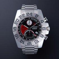 Tudor Iconaut Steel 43mm Black No numerals