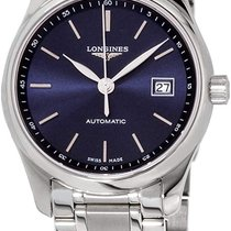 Longines Steel Automatic Blue 29mm new Master Collection